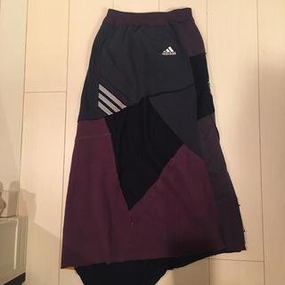 アディダス(adidas)のadidasリメイク マキシスカート(ロングスカート)