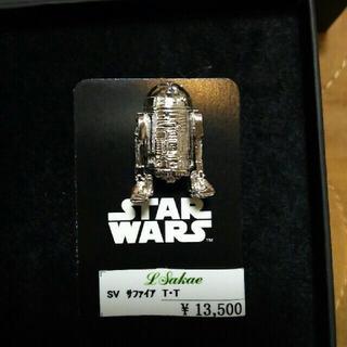 ディズニー(Disney)のスターウォーズ R2-D2 ピンバッジ(ブローチ/コサージュ)