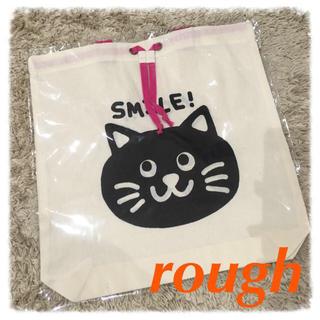 ラフ(rough)のroughノベルティーバッグ☆(エコバッグ)