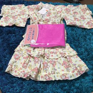 マイメロディ(マイメロディ)のマイメロ  浴衣ドレス(甚平/浴衣)