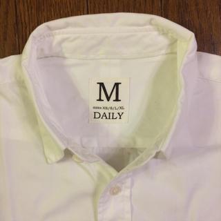 ウィムニールス(WIM NEELS)のwim neels daily 白シャツ Sサイズ(シャツ)