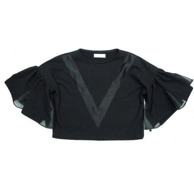 H.P.FRANCE(アッシュペーフランス)のVL by VEE プルオーバー ブラウス トップス レディースのトップス(シャツ/ブラウス(半袖/袖なし))の商品写真
