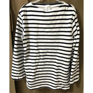 ヤエカ(YAECA)のYAECA ボーダーカットソー バスクシャツ(Tシャツ/カットソー(七分/長袖))