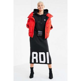 アディダス(adidas)のadidas アディダス ワンピ ワンピース スカート(ロングワンピース/マキシワンピース)