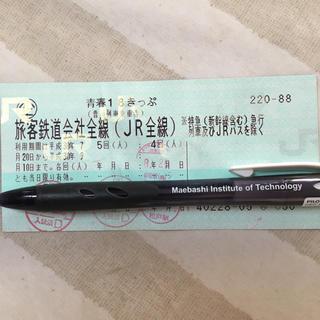 青春18きっぷ 1回 即発送 クリックポスト(鉄道乗車券)