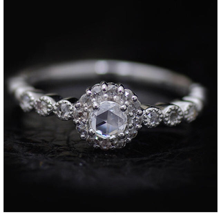 ティファニー(Tiffany & Co.)のベーネ・ベーネ 現行品 ローズカット ダイヤモンドリング(リング(指輪))