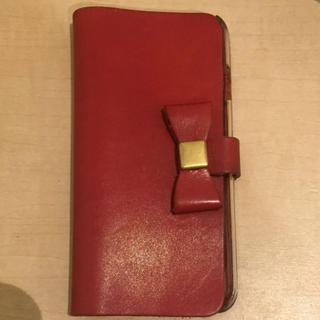 栃木レザー iPhone6S 6 手帳型カバー ケース 天然革 送料込