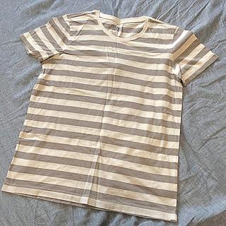ムジルシリョウヒン(MUJI (無印良品))の無印良品☆ボーダー☆Tシャツ☆XL(Tシャツ(半袖/袖なし))