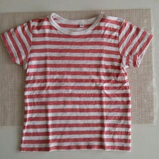ムジルシリョウヒン(MUJI (無印良品))のキッズボーダーTシャツ(Tシャツ/カットソー)
