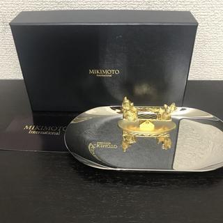 ミキモト(MIKIMOTO)のミキモト 小物置き 新品☆ パール付き ベア・シーソー(置物)