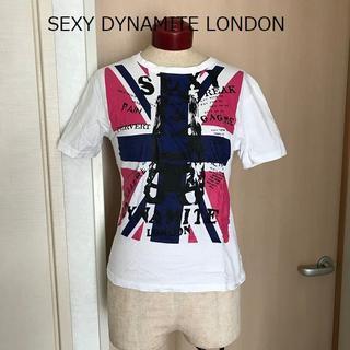 セクシーダイナマイト(SEXY DYNAMITE)の【送料込】セクダイ Tシャツ 美品 ROCK パンク ロック ユニオンジャック(Tシャツ(半袖/袖なし))