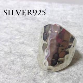 2824 SILVER925 重厚☆ワイドタタキリング24号 幅広 ゴツ感(リング(指輪))