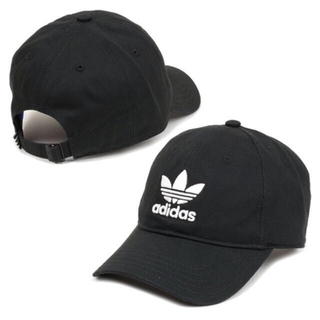 アディダス(adidas)の【adidas originals】キャップ 黒 (美品)(キャップ)