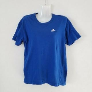 アディダス(adidas)のアディダス adidas Tシャツ(ワンポイント・ブルー)(その他)