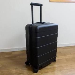 ムジルシリョウヒン(MUJI (無印良品))の無印良品 キャリーバッグ 35L ネイビー(旅行用品)