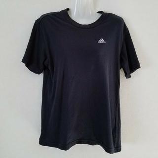 アディダス(adidas)のアディダス adidas Tシャツ(ワンポイント・黒)(その他)