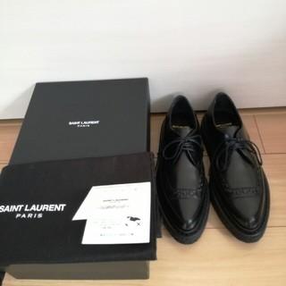 サンローラン(Saint Laurent)の新品未使用 サンローラン レディースオックスフォード(ローファー/革靴)