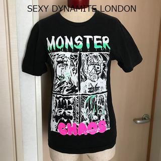 セクシーダイナマイト(SEXY DYNAMITE)の【送料込】セクダイ Tシャツ 美品 ROCK パンク ロック KERA(Tシャツ(半袖/袖なし))