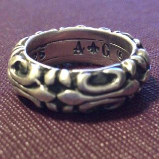 エーアンドジー(A&G)の限定値下げ【A&G 】リング💀(リング(指輪))