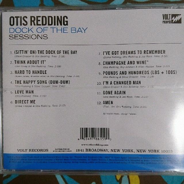 Dock Of The Bay Sessions/Otis Redding エンタメ/ホビーのCD(R&B/ソウル)の商品写真