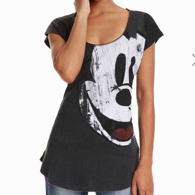 DESIGUAL(デシグアル)の新品 Desigual デシグアル ミッキー Tシャツ M ミッキーマウス レディースのトップス(Tシャツ(半袖/袖なし))の商品写真