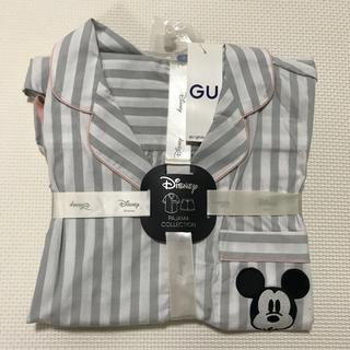 ジーユー(GU)の【新品未使用】GU ディズニー ミッキー 半袖 ショートパンツ パジャマセット(パジャマ)