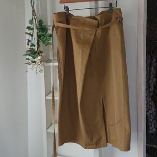 アンティカ(antiqua)のantiqua/patterntorso*巻き風スカート(ロングスカート)