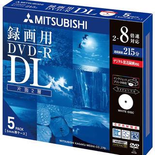 三菱ケミカル - 三菱 DVD1回録画用 5枚