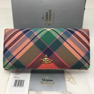 ヴィヴィアンウエストウッド(Vivienne Westwood)の新品☺︎Vivienne Westwood ヴィヴィアン 長財布 チェック(財布)