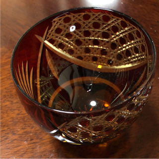 トウヨウササキガラス(東洋佐々木ガラス)の切子タンブラー  佐々木硝子(タンブラー)