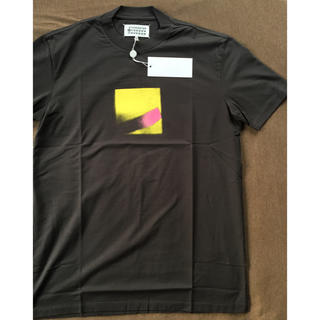 マルタンマルジェラ(Maison Martin Margiela)の52新品64%off マルジェラ スプレープリント Tシャツ グレー 17AW(Tシャツ/カットソー(半袖/袖なし))