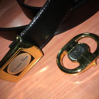 ディオール(Dior)のイタリー製 D i o rベルト(ベルト)