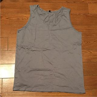 ムジルシリョウヒン(MUJI (無印良品))の【新品未使用】無印良品 タンクトップ(Tシャツ/カットソー(半袖/袖なし))