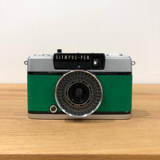 オリンパス(OLYMPUS)の【整備済・完動品】 OLYMPUS PEN EE-3 グリーン(フィルムカメラ)
