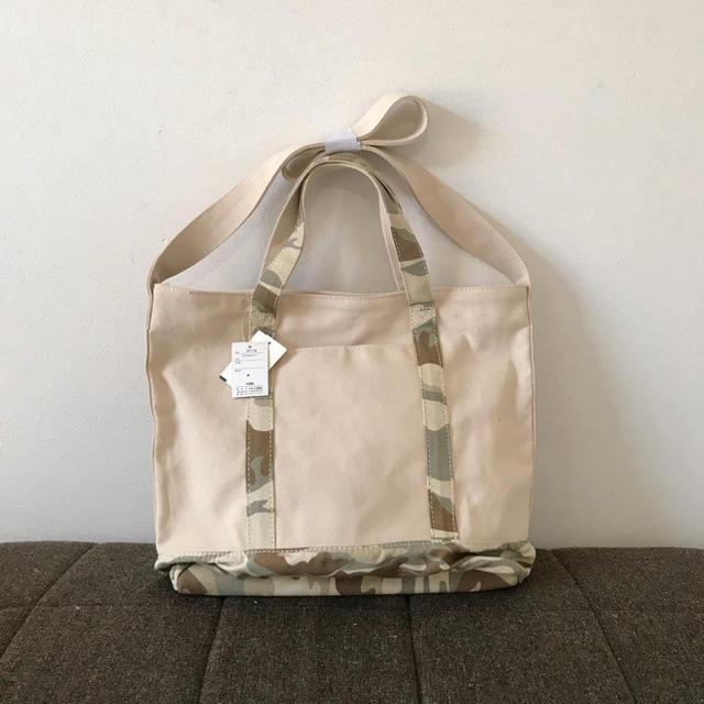 しまむら(シマムラ)の未使用*カモフラ  2WAYトート レディースのバッグ(トートバッグ)の商品写真