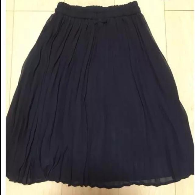 GU(ジーユー)のプリーツスカート*キッズ*女の子用 キッズ/ベビー/マタニティのキッズ服 女の子用(90cm~)(スカート)の商品写真