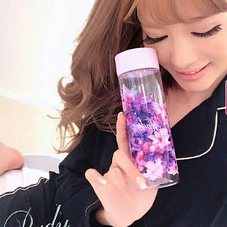 レディー(Rady)の♡Rady♡エレガンスフラワークリアボトル♡ラベンダー♡(容器)