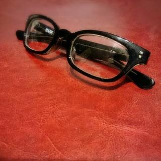 ハレ(HARE)のHARE ハレ メガネ 眼鏡 黒 ブラック(サングラス/メガネ)