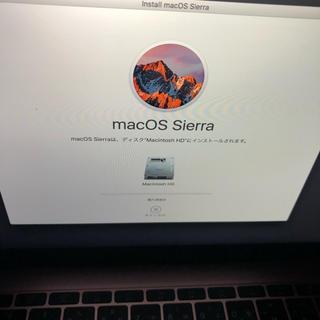 アップル(Apple)の確認用(ノートPC)
