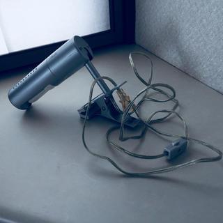 ムジルシリョウヒン(MUJI (無印良品))の無印良品アルミ蛍光灯クリップライト(蛍光灯/電球)