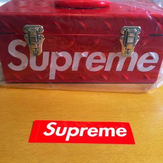 シュプリーム(Supreme)のSupreme plate tool box ステッカー入り(ケース/ボックス)