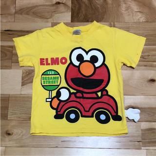 セサミストリート(SESAME STREET)の110cm セサミストリート 黄色 Tシャツ(Tシャツ/カットソー)