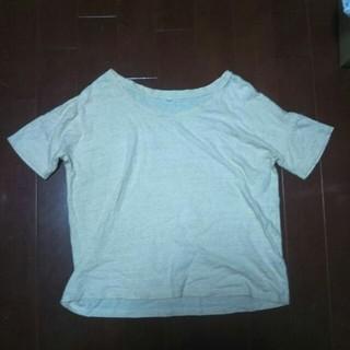 ムジルシリョウヒン(MUJI (無印良品))のMUJI 天然染料染め オーガニックコットンTシャツM(Tシャツ(半袖/袖なし))
