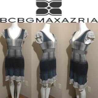 ビーシービージーマックスアズリア(BCBGMAXAZRIA)のBCBGMAXAZRIA (ビーシービージーマックスアズリア)♡フレアワンピース(ひざ丈ワンピース)