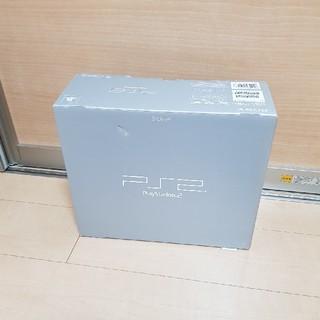 プレイステーション2(PlayStation2)の未使用 PS2 本体 39000 シルバー プレステ2 ソニー 送料無料!(家庭用ゲーム本体)