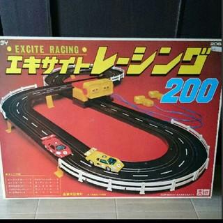 バンダイ(BANDAI)のビンテージ! エキサイトレーシング レーシングカー サーキット(ミニカー)