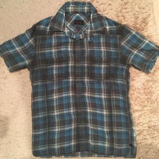 テットオム(TETE HOMME)の半袖シャツ テットオム 美品 チェック  tete home(シャツ)
