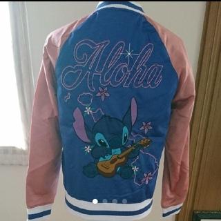 ディズニー(Disney)のmartha様専用 スティッチサテンスーベニアジャケット(スカジャン)