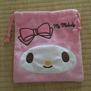 シマムラ(しまむら)のマイメロ 巾着 袋 ポーチ ピンク しまむら サンリオ きんちゃく リボン(ポーチ)