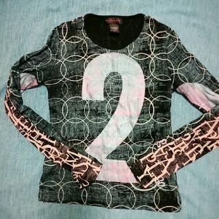 クストバルセロナ(Custo Barcelona)のCUSTO  BARCELONA カットソー(Tシャツ(長袖/七分))